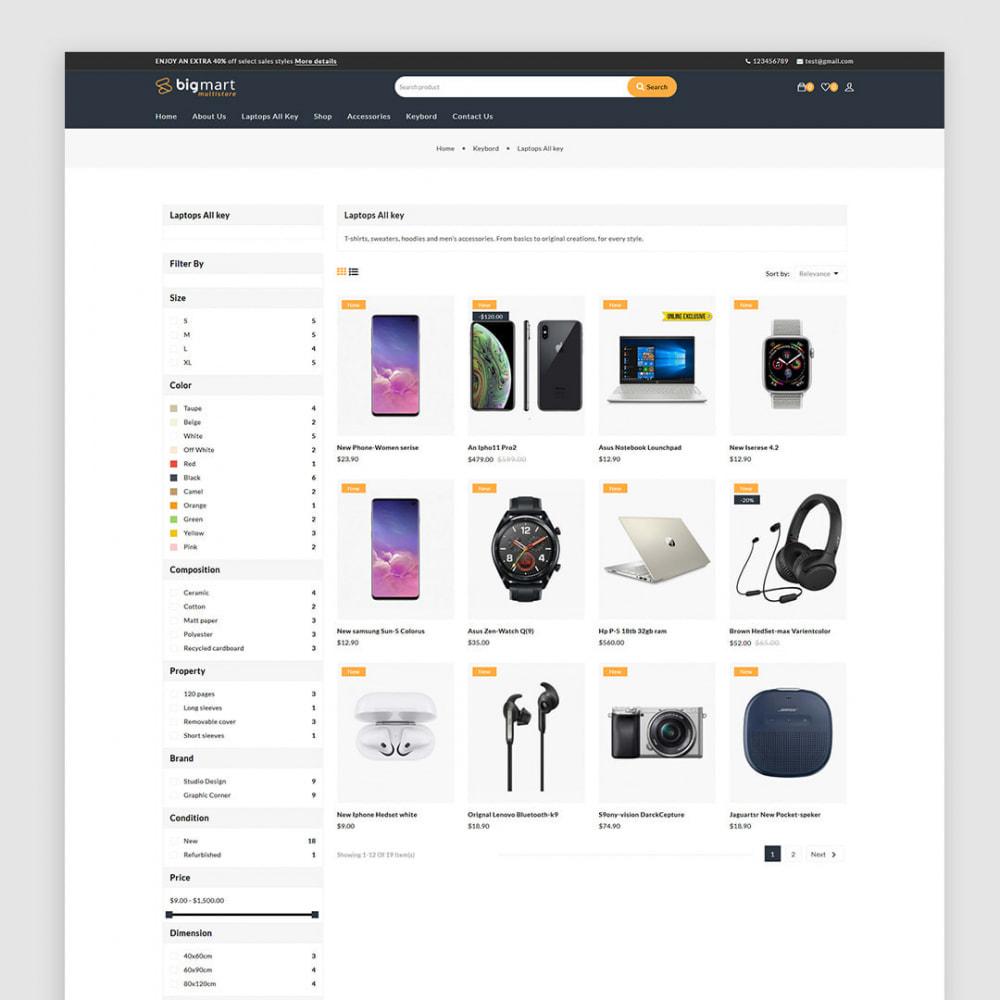 theme - Electronics & Computers - Bigmart - The Electronics, Smartphones Multistore - 3