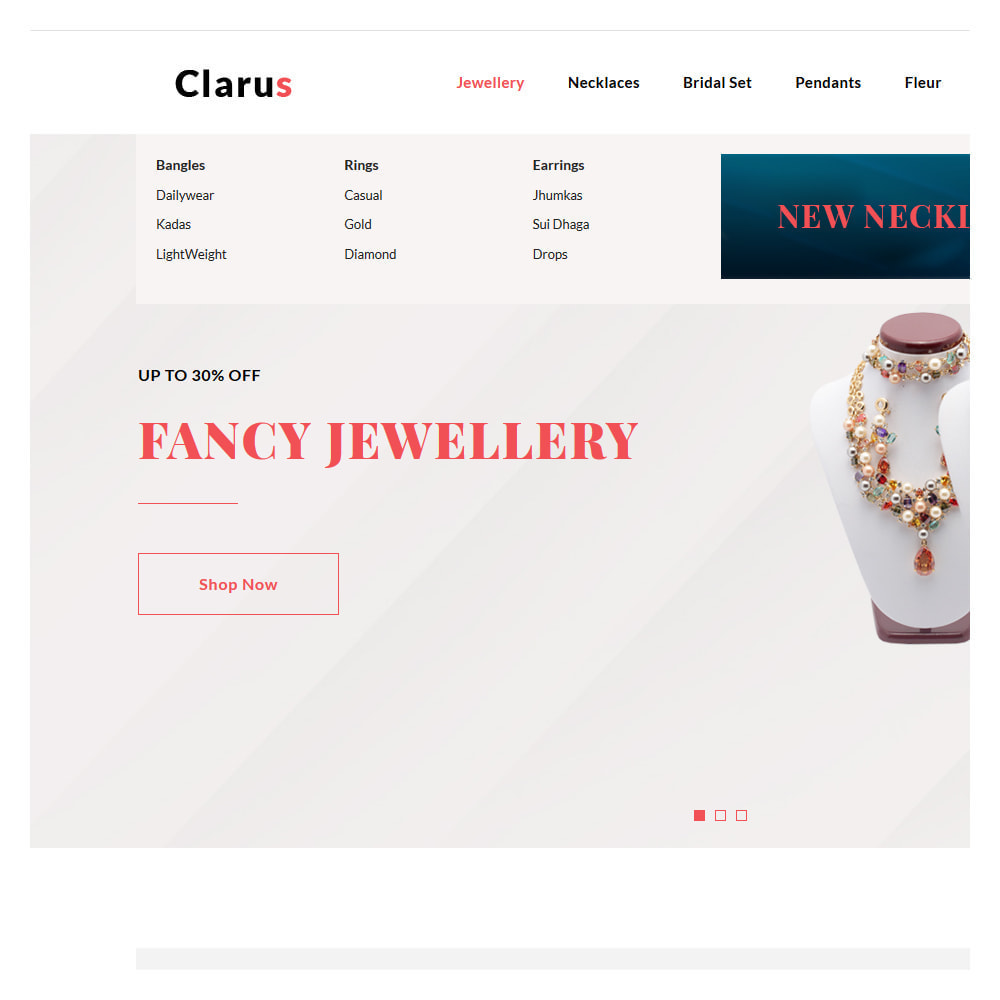 theme - Jewelry & Accessories - Clarus Jewelry & Accessories Shop - 8