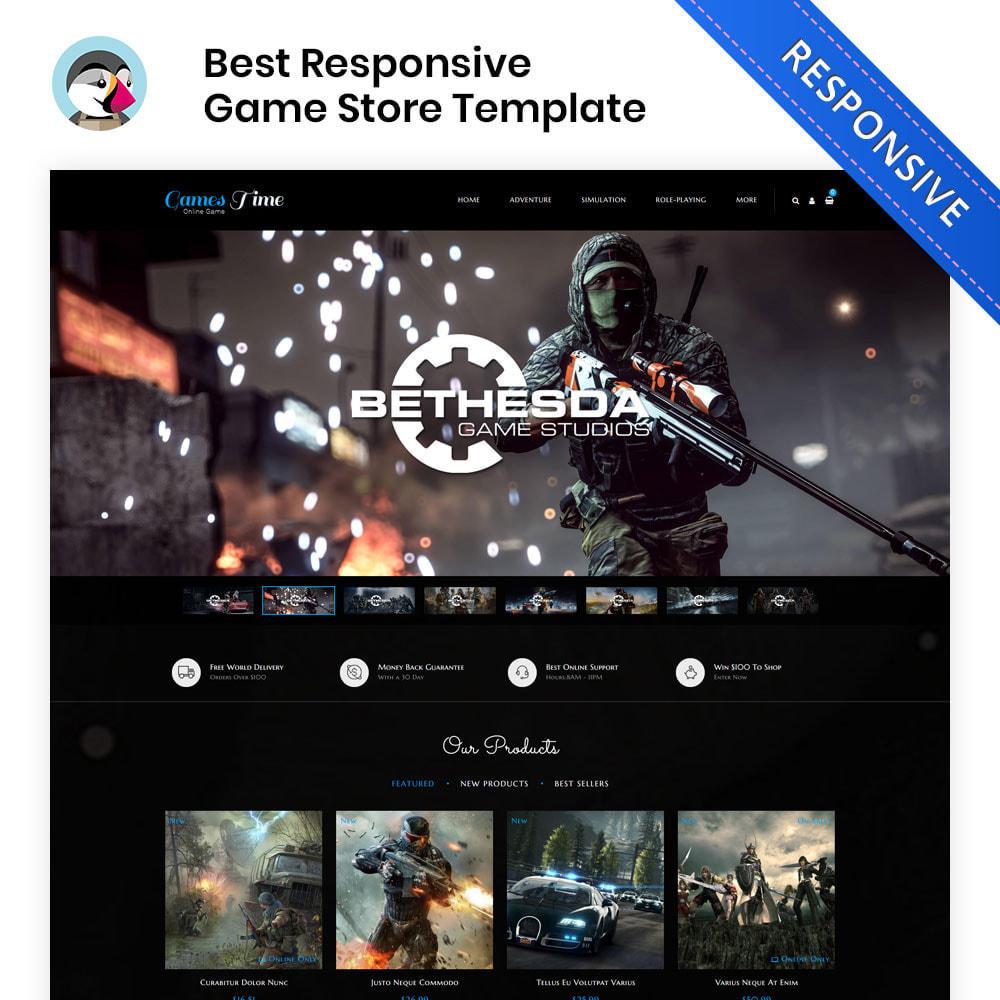 theme - Desporto, Actividades & Viagens - Gamestime Game Store - 1