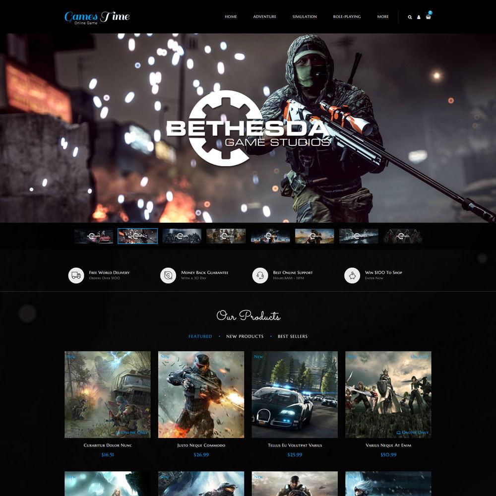 theme - Sport, Activiteiten & Reizen - Gamestime Game Store - 3
