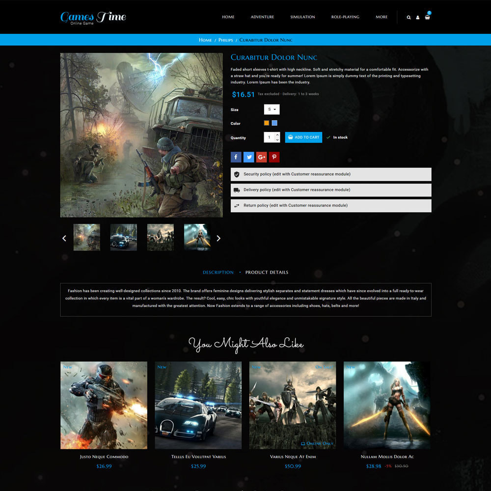 theme - Desporto, Actividades & Viagens - Gamestime Game Store - 6
