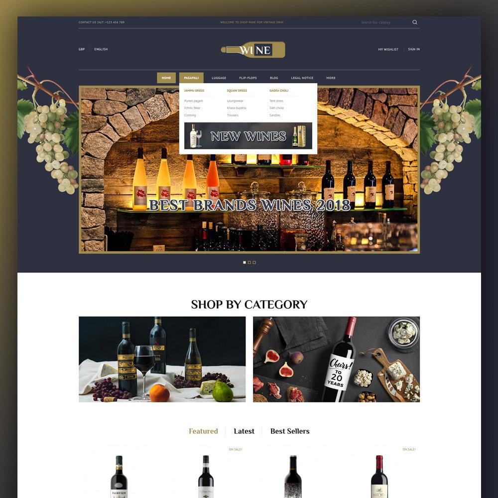 theme - Drink & Tobacco - Online Wine Store - 2