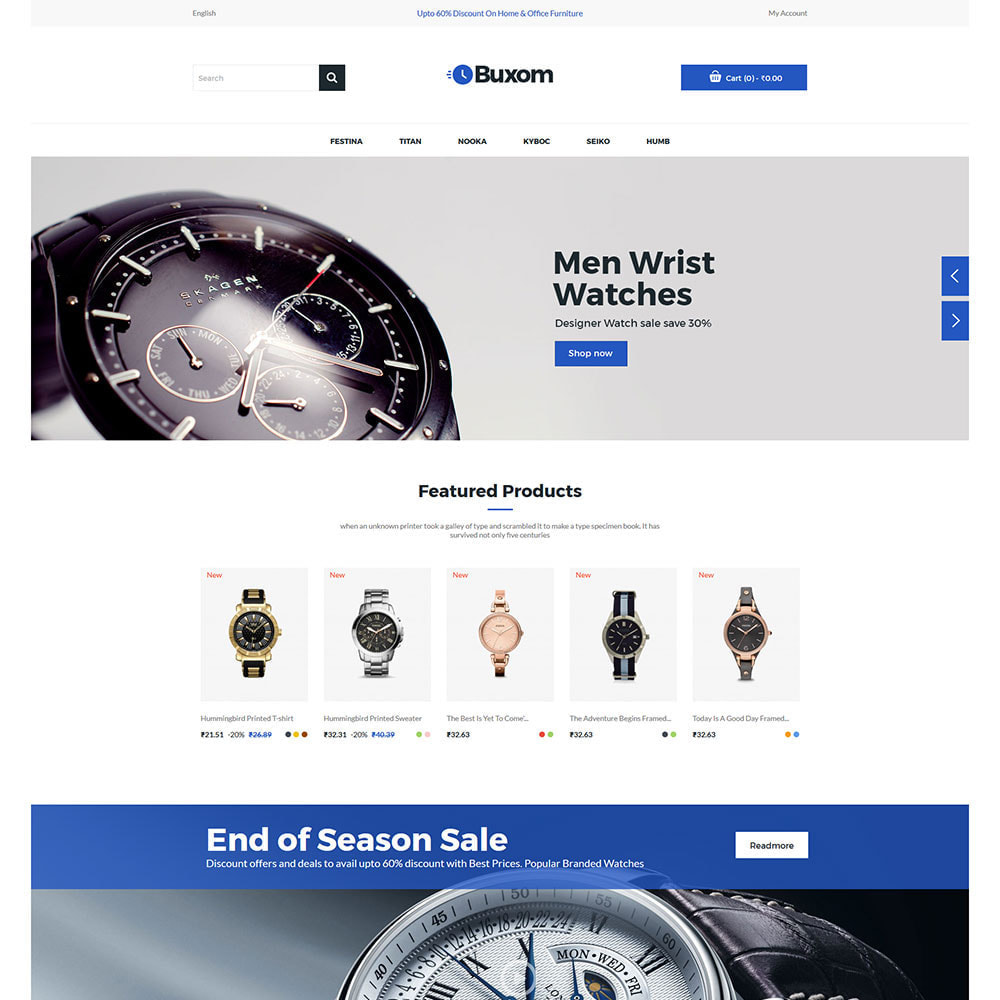 theme - Fashion & Shoes - Watch Clock  - Digital Fashion Accessories Store - 2