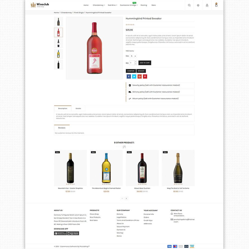 theme - Bebidas & Tabaco - WineClub - Wine - Drinks & Bar - 8