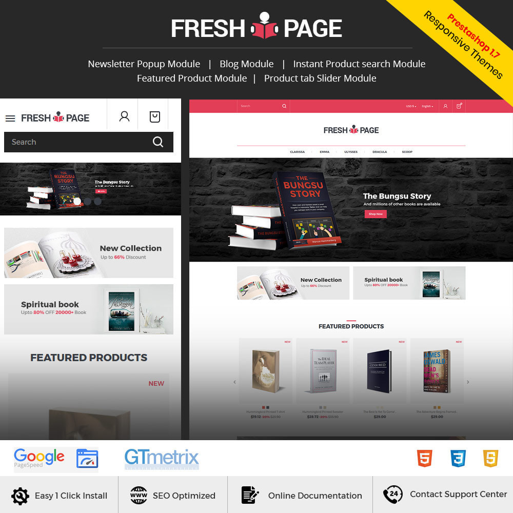 theme - Art & Culture - Fresh Page Book - Ebook Library Store - 1