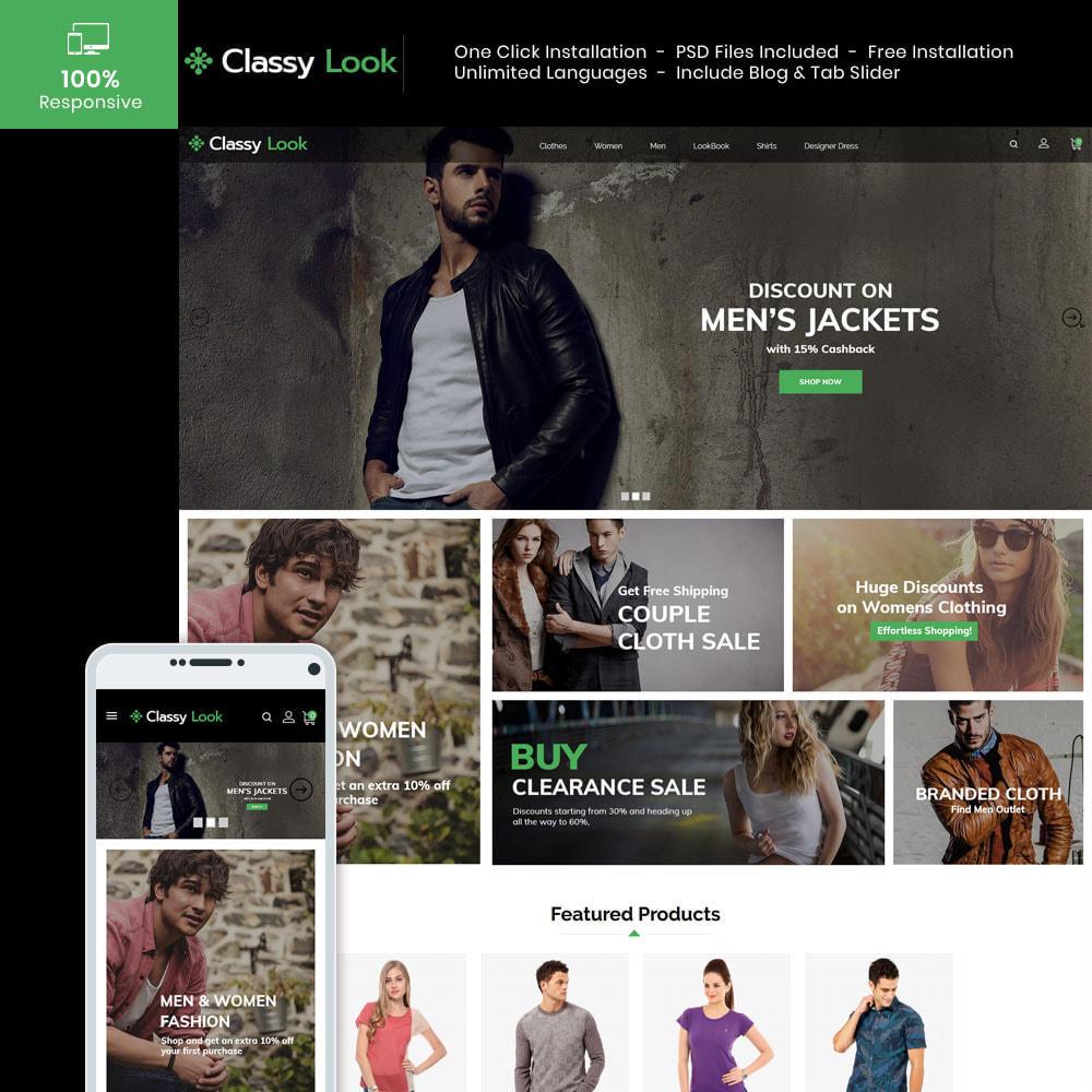 theme - Fashion & Shoes - Classy Loook - Fashion Clothes - 1