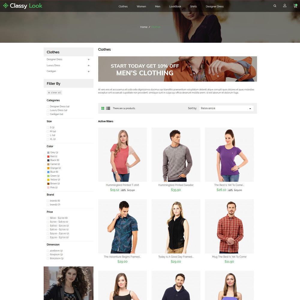 theme - Fashion & Shoes - Classy Loook - Fashion Clothes - 3