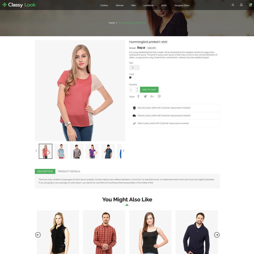 theme - Fashion & Shoes - Classy Loook - Fashion Clothes - 5