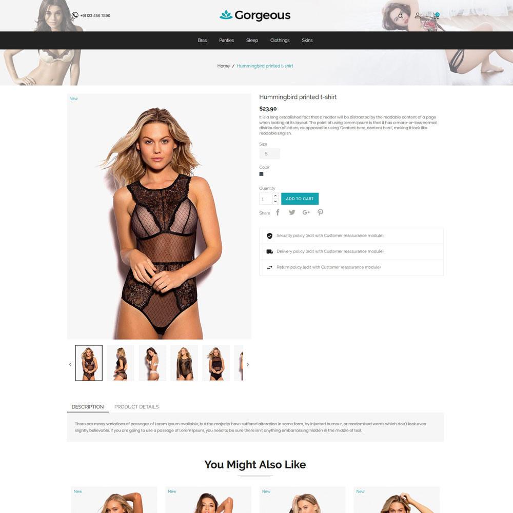 theme - Lingerie & Adult - Lingerege Adult - Sex Bra Innerwear Store - 5