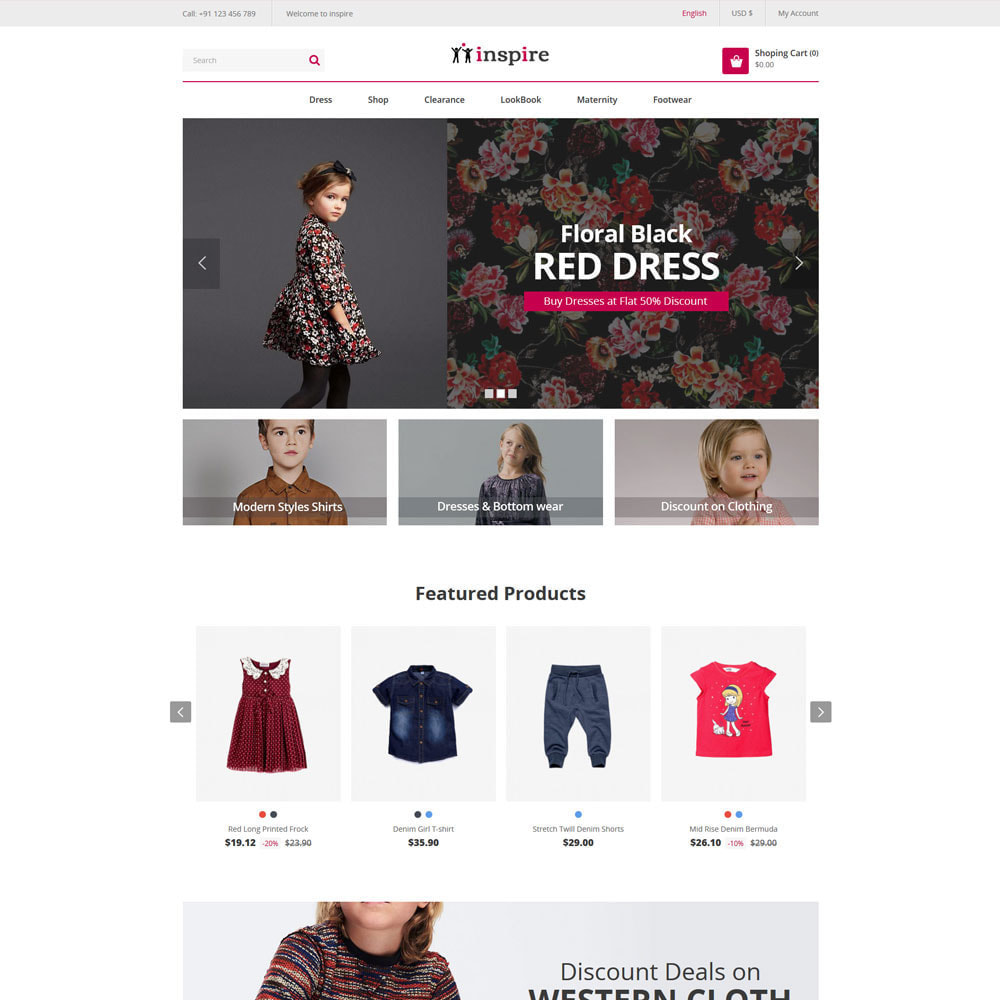 theme - Fashion & Shoes - Inspire Fashion Cloth Designer Store - 2