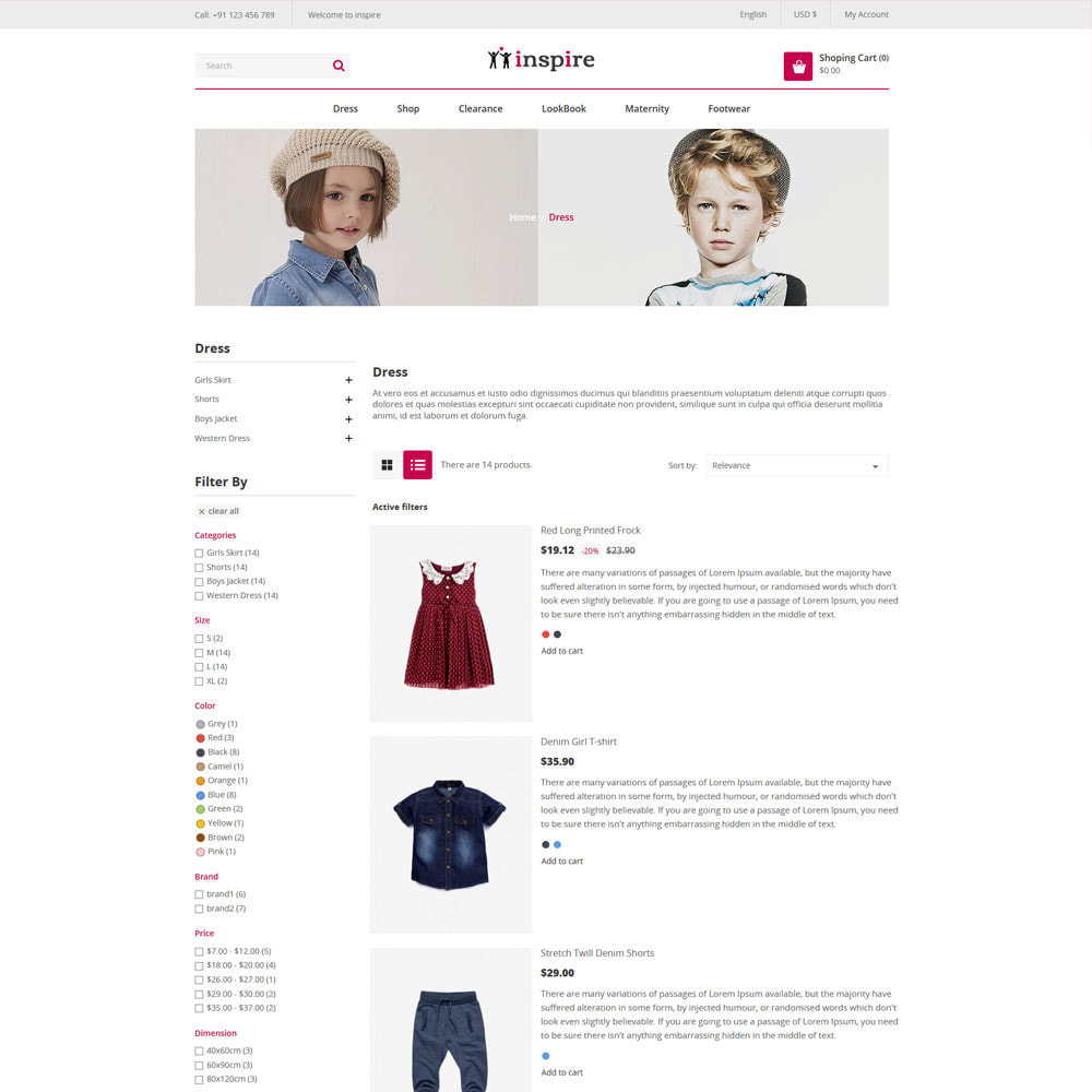 theme - Fashion & Shoes - Inspire Fashion Cloth Designer Store - 4