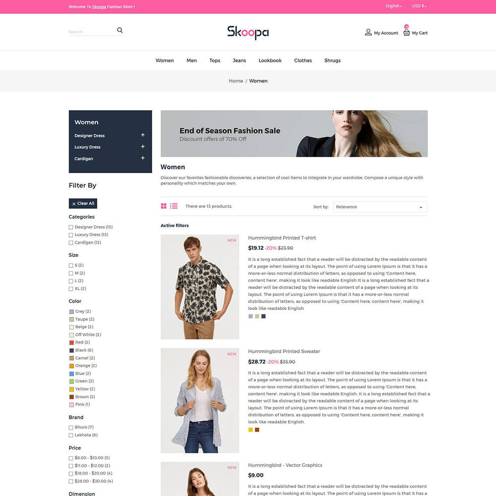 theme - Fashion & Shoes - Skoopa  Fashion - Designer  Accessories Store - 3
