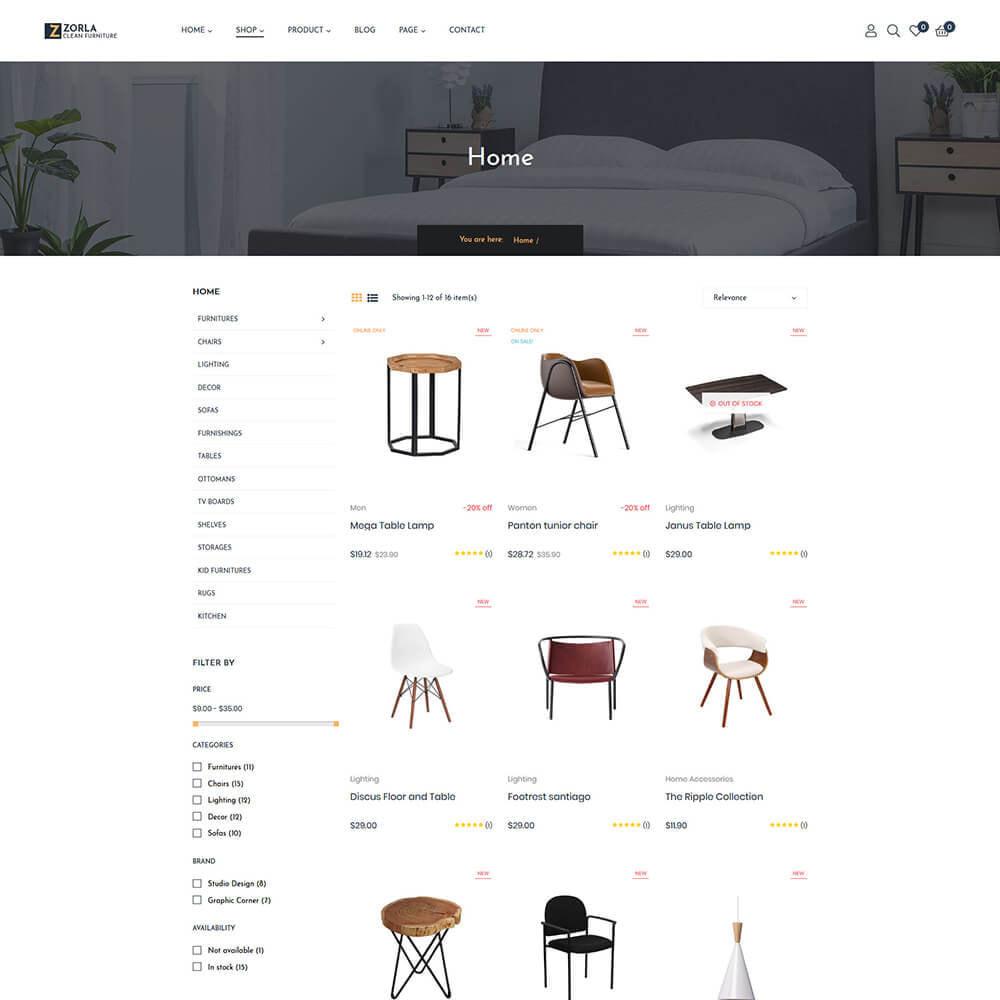 theme - Home & Garden - Zorla - Furniture & Home Decor - 3