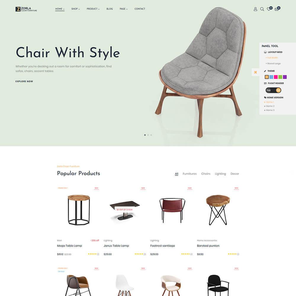theme - Home & Garden - Zorla - Furniture & Home Decor - 7