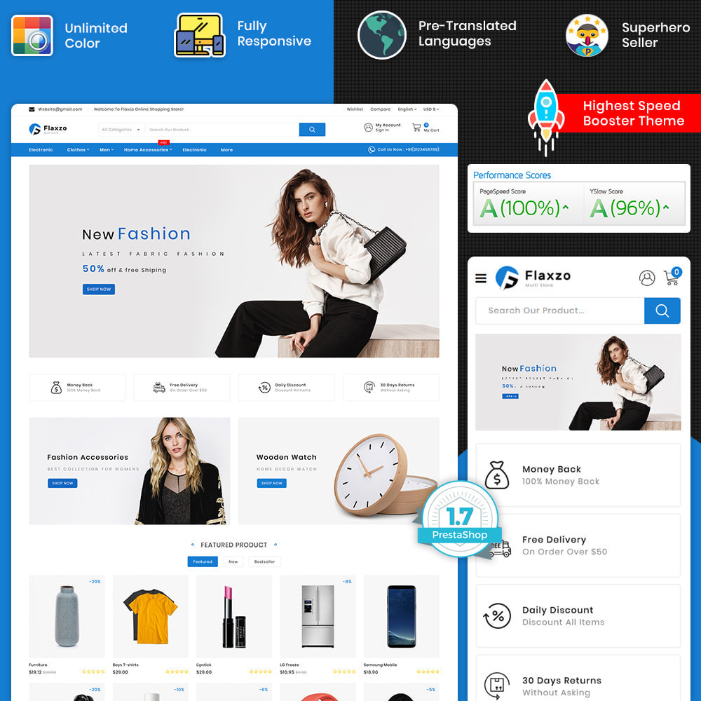 theme - Electronics & Computers - Flaxzo - The Best Multi Purpose Store - 1