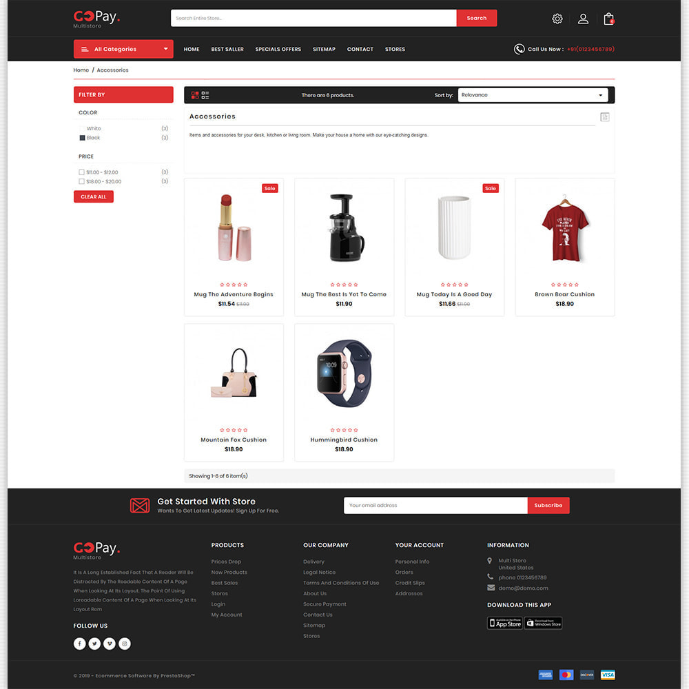 theme - Electronics & Computers - GoPay - The Best Multi Purpose Store - 6
