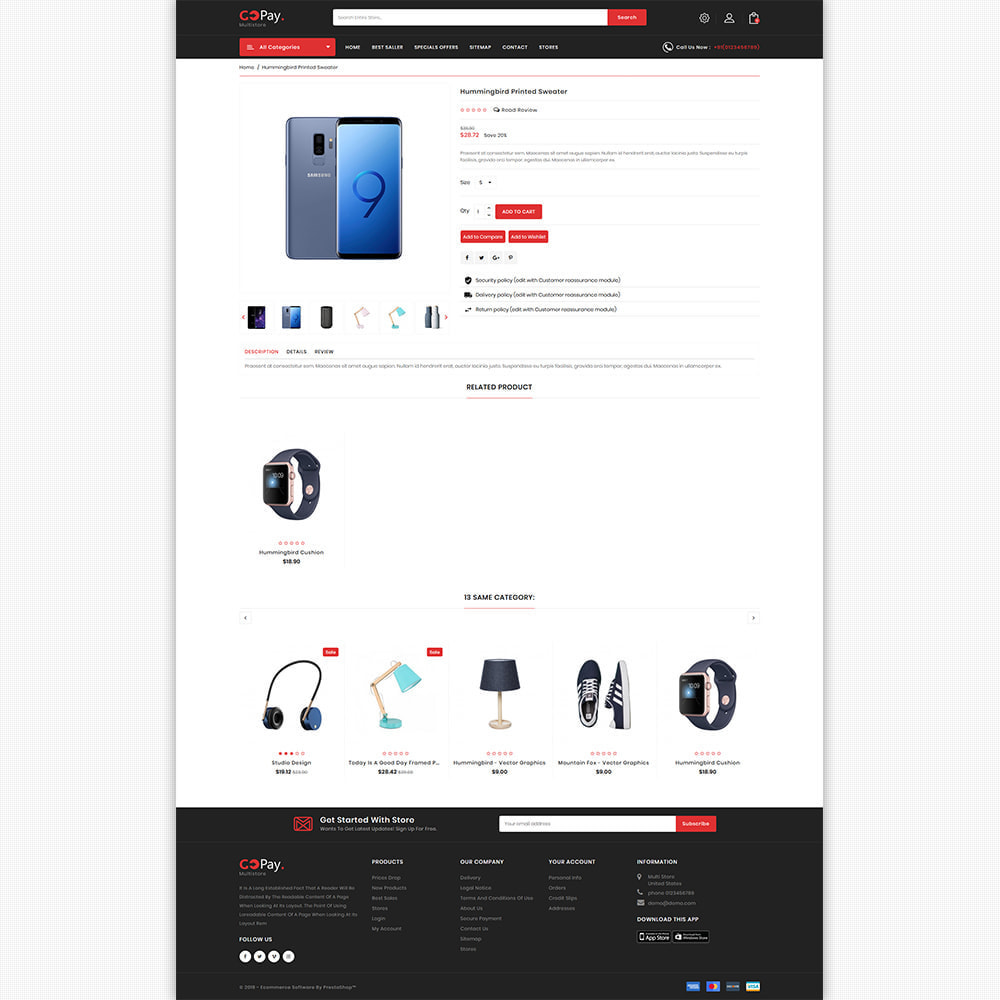theme - Electronics & Computers - GoPay - The Best Multi Purpose Store - 8