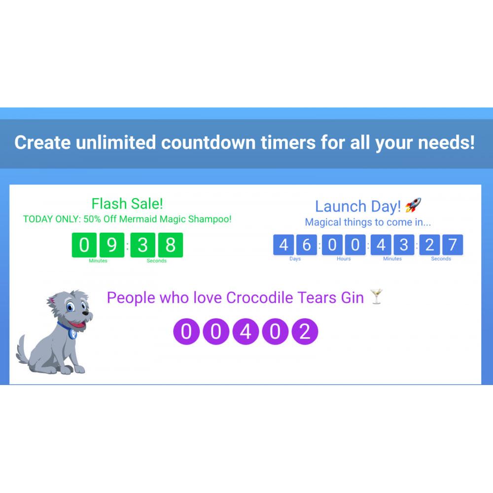 module - Publicidade e Marketing - POWr Countdown Timer - 3