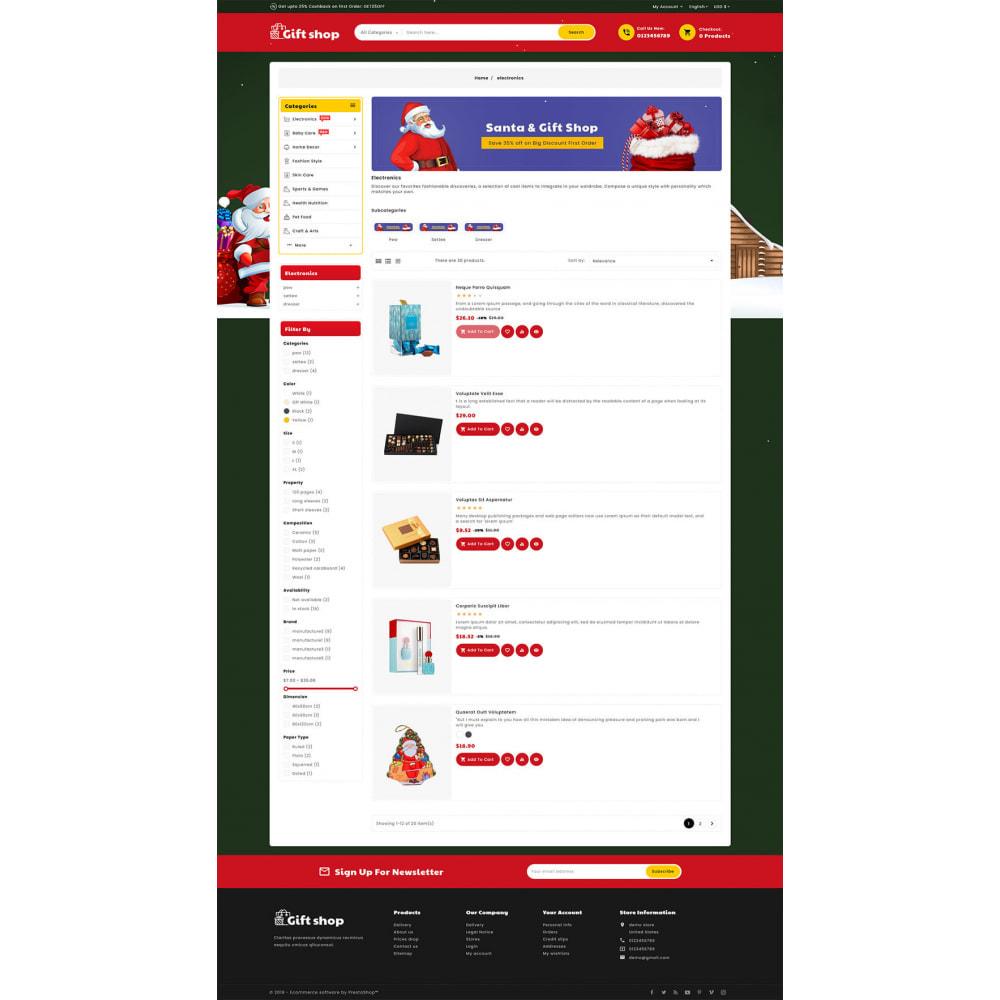 theme - Cadeaus, Bloemen & Gelegenheden - Gift & Articles Shop - 4
