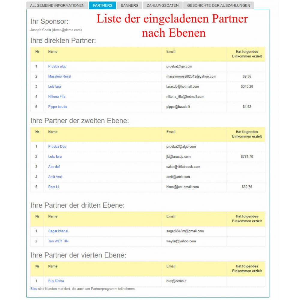 module - SEA SEM (Bezahlte Werbung) & Affiliate Plattformen - Das erweiterte Referenzprogramm RefPRO - 22