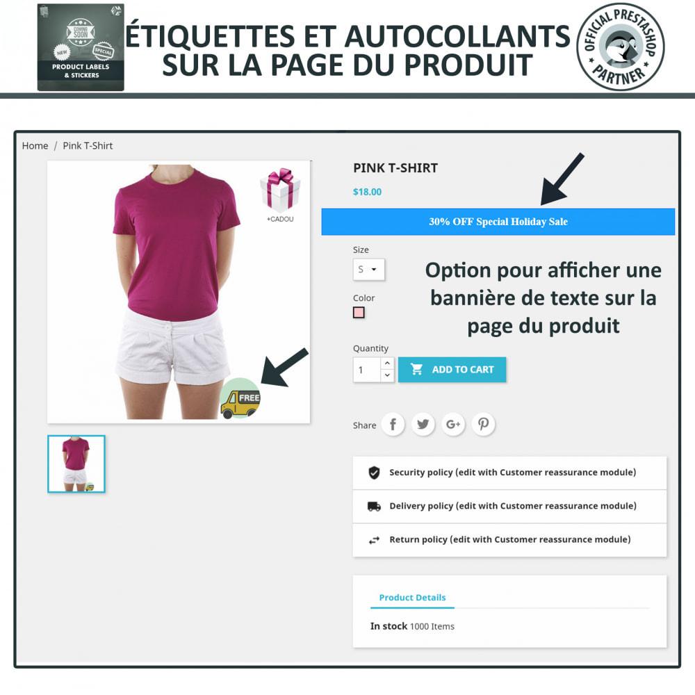 module - Etiquettes & Logos - Étiquettes de Produits et Autocollants - 4