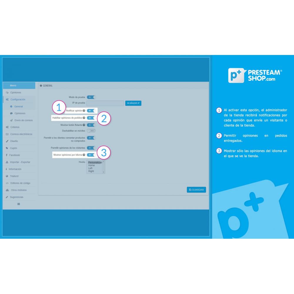 module - Comentarios de clientes - iFeedback - Valoraciónes avanzadas - 18