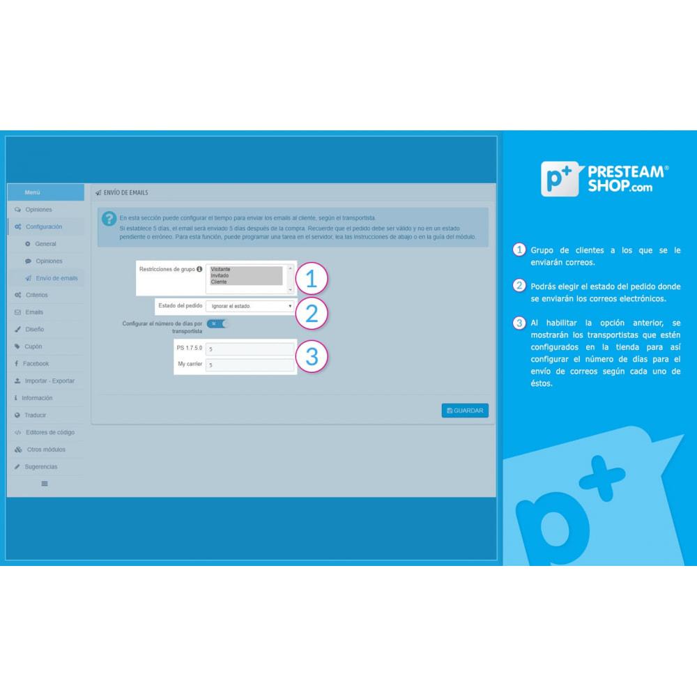 module - Comentarios de clientes - iFeedback - Valoraciónes avanzadas - 20