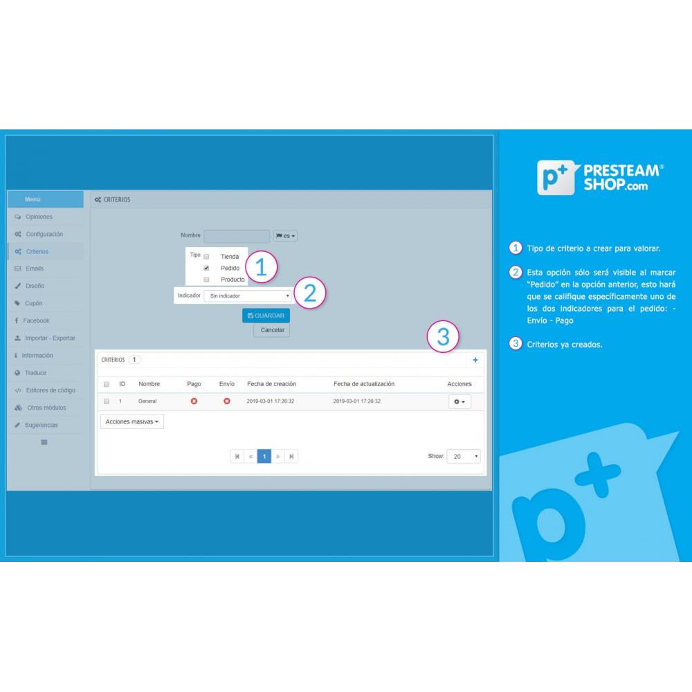 module - Comentarios de clientes - iFeedback - Valoraciónes avanzadas - 21