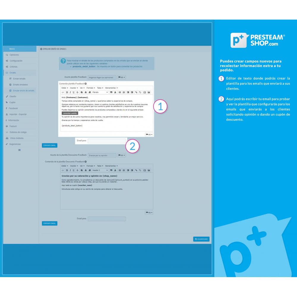 module - Comentarios de clientes - iFeedback - Valoraciónes avanzadas - 24