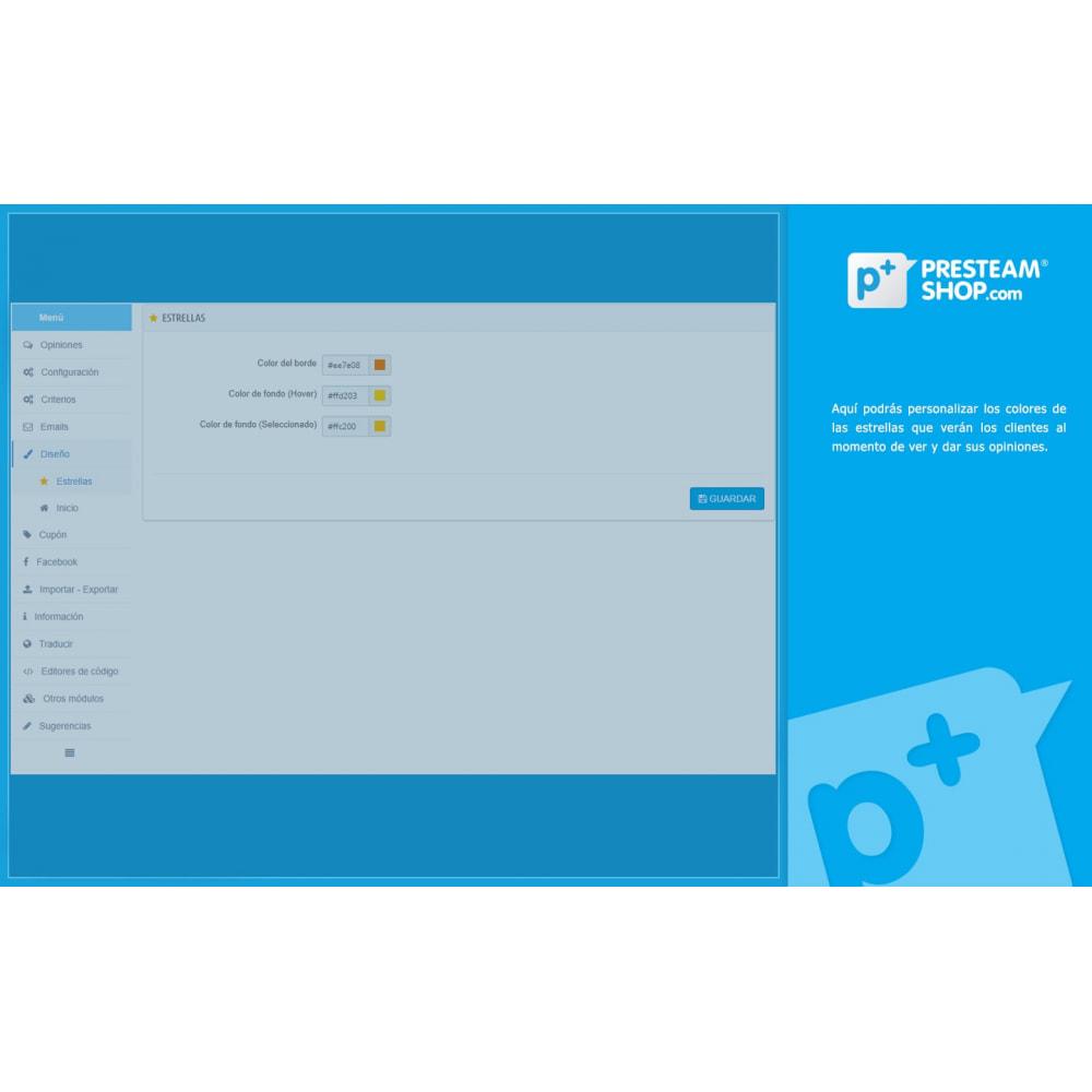 module - Comentarios de clientes - iFeedback - Valoraciónes avanzadas - 25