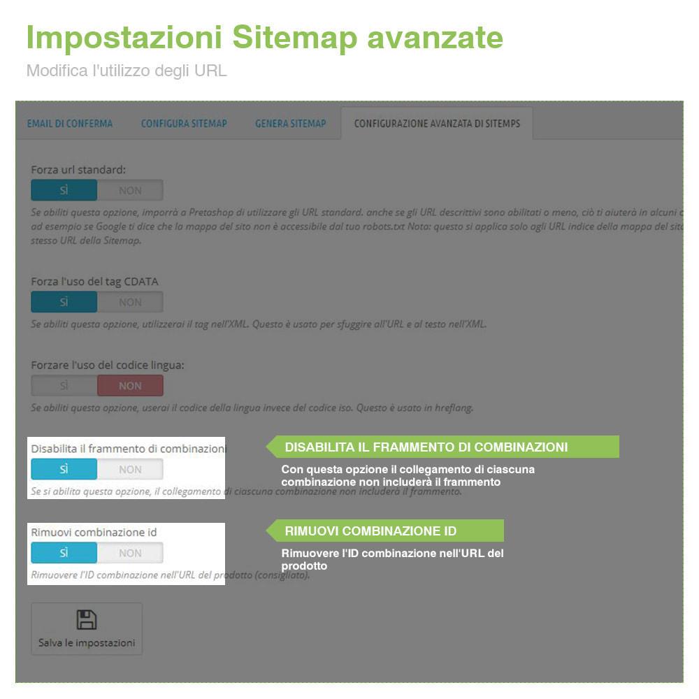 module - SEO (Indicizzazione naturale) - Sitemaps Pro Multi-Lingue e Multi-Negozio - SEO - 12