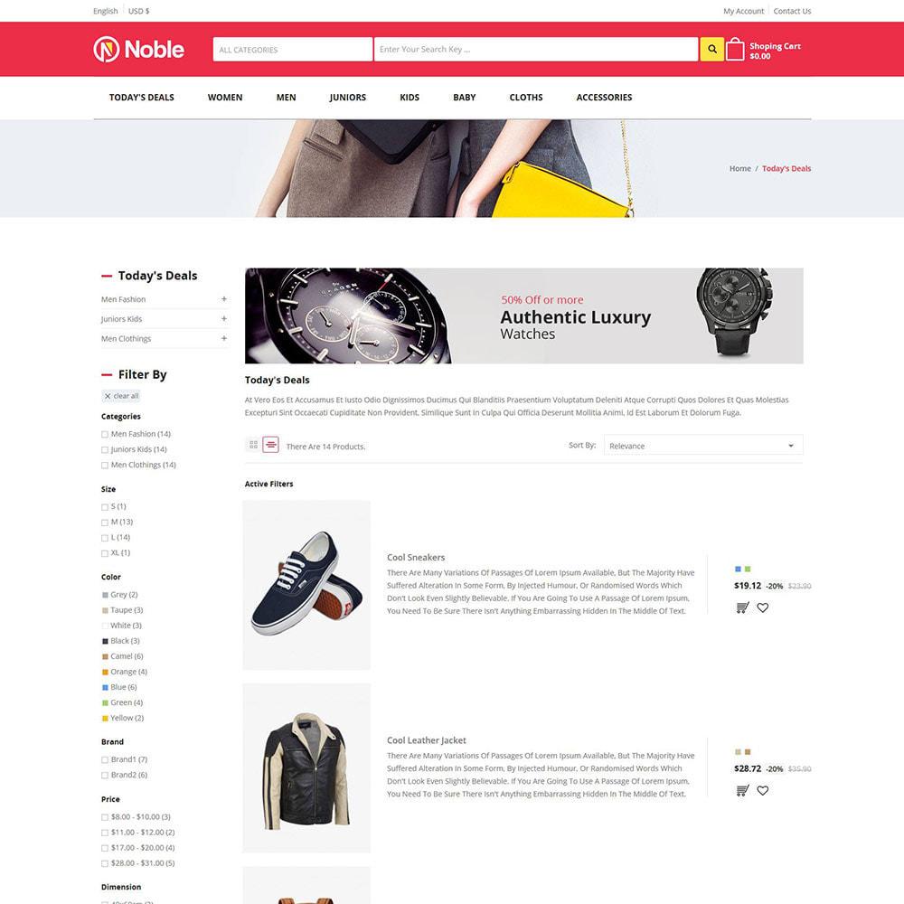 theme - Moda & Obuwie - Noble Apparels - sklep z odzieżą damską - 4