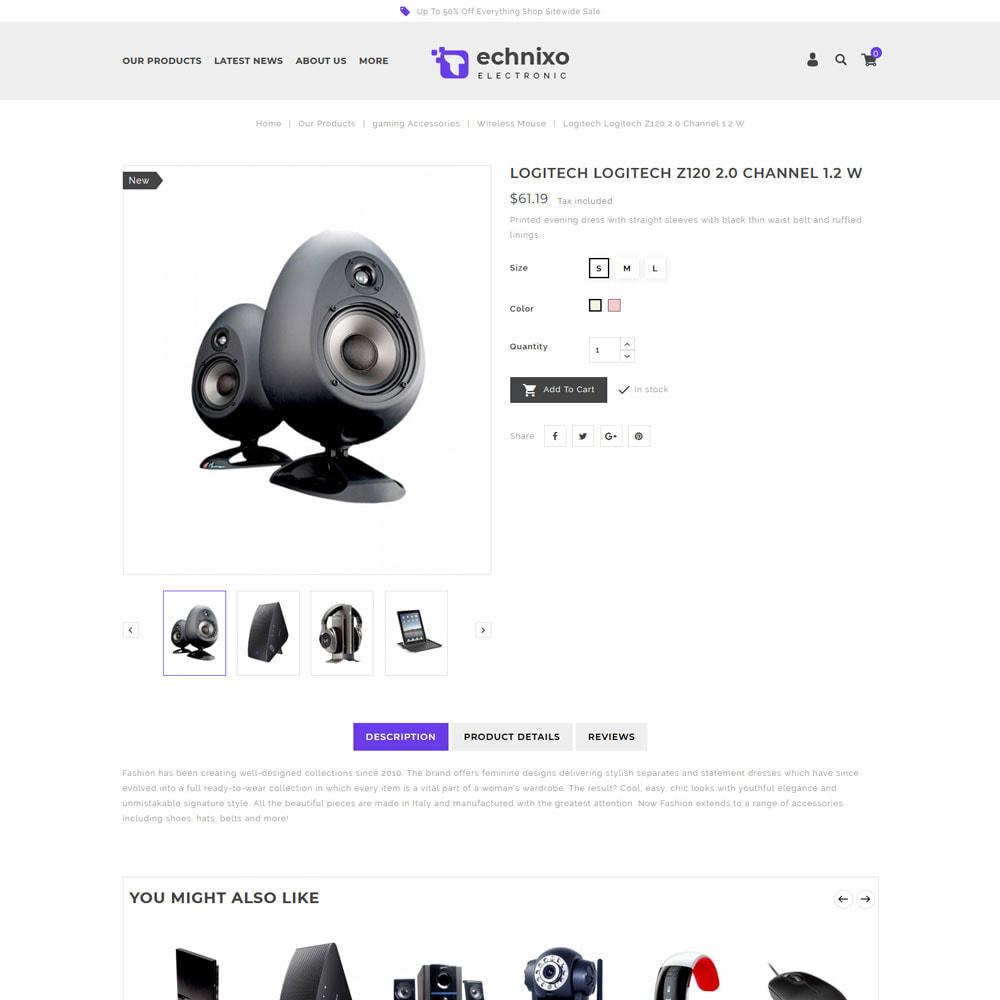 theme - Electronique & High Tech - Technixo - Le magasin électronique - 7