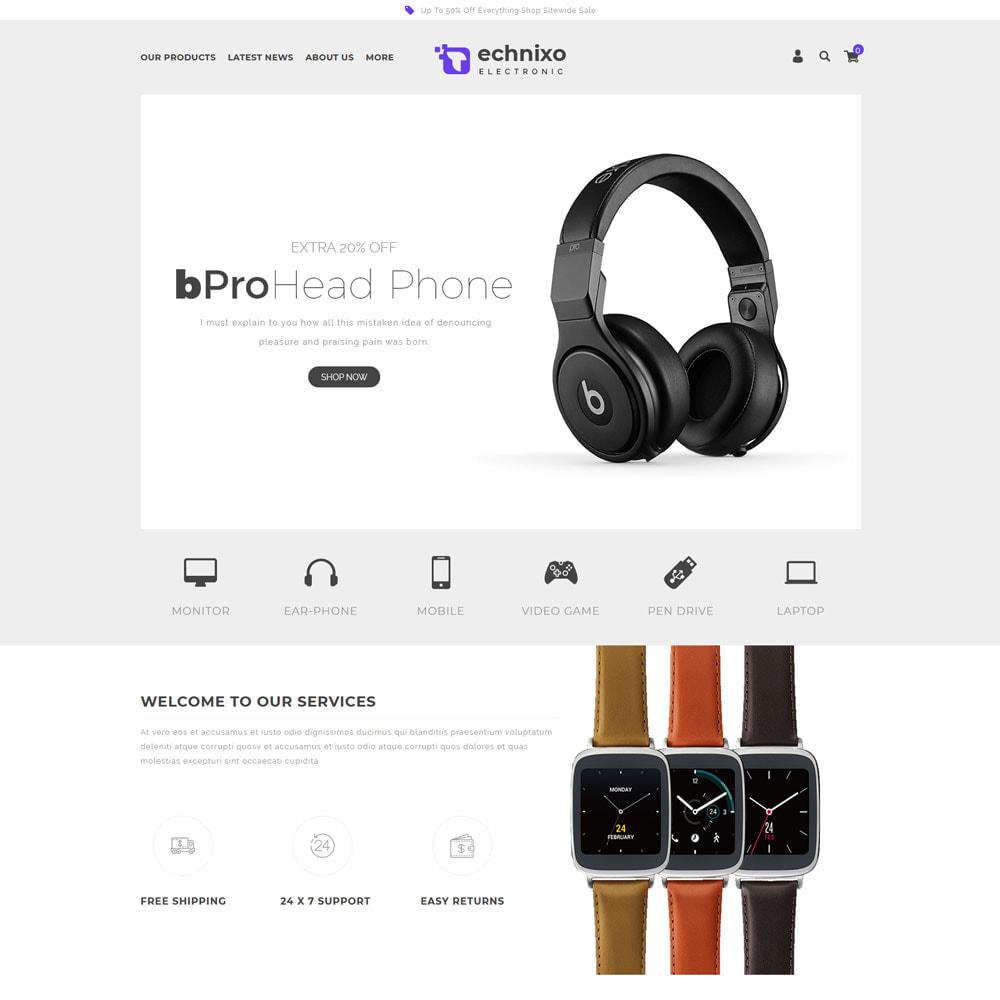 theme - Electrónica e High Tech - Technixo - La tienda electrónica - 4