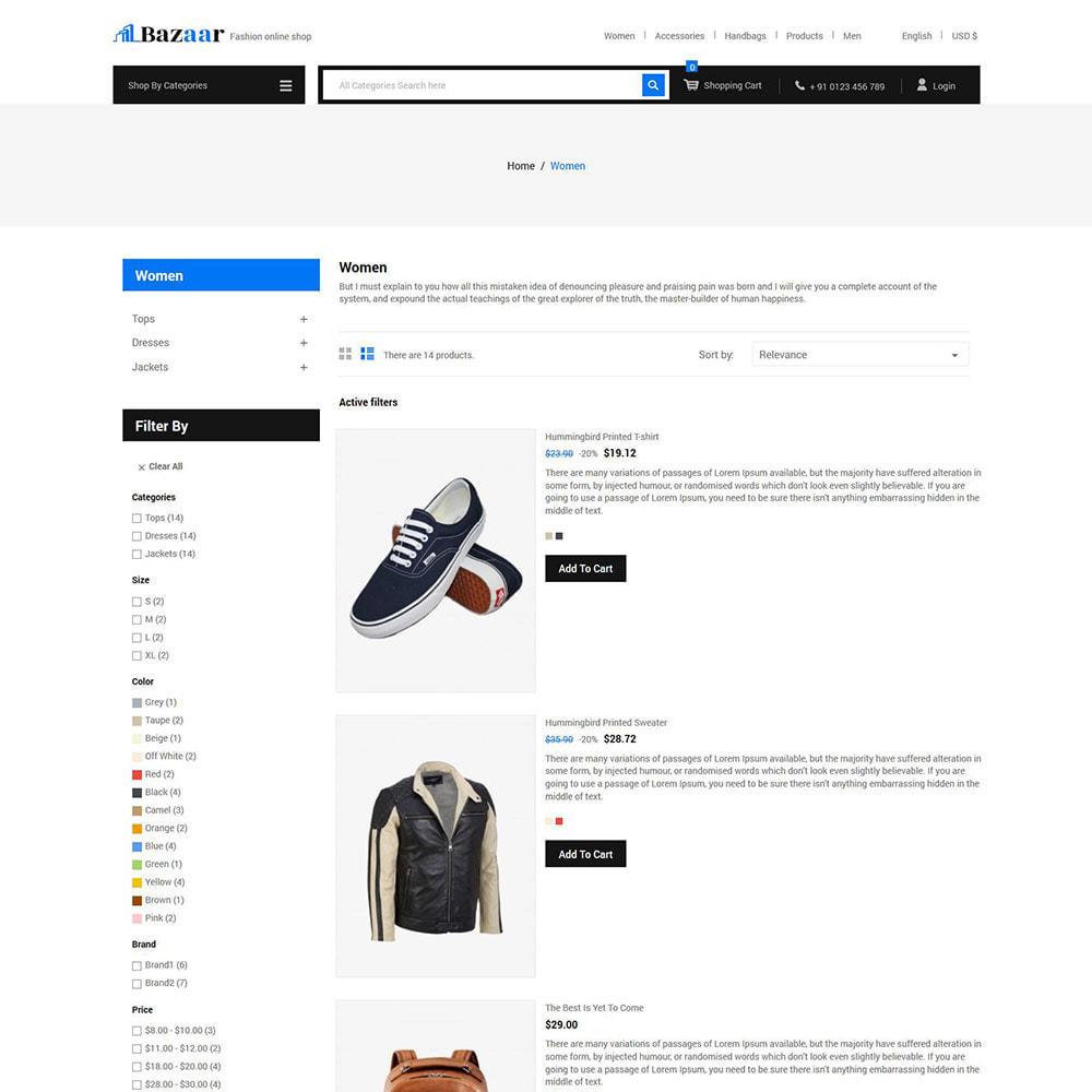 theme - Электроника и компьютеры - Bazaar - Цифровой магазин мобильной электроники - 5