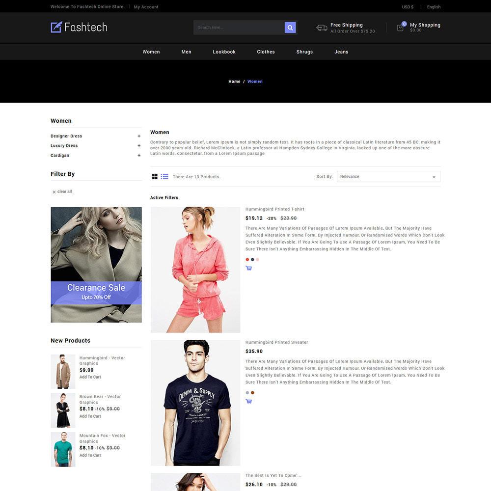 theme - Mode & Schoenen - Fashion Apparels - Dames Designer Store - 5
