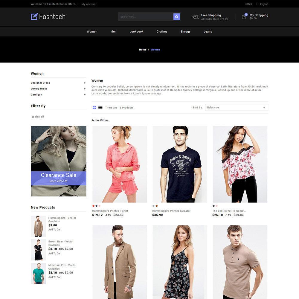 theme - Мода и обувь - Fashion Apparels - Магазин женской одежды - 4
