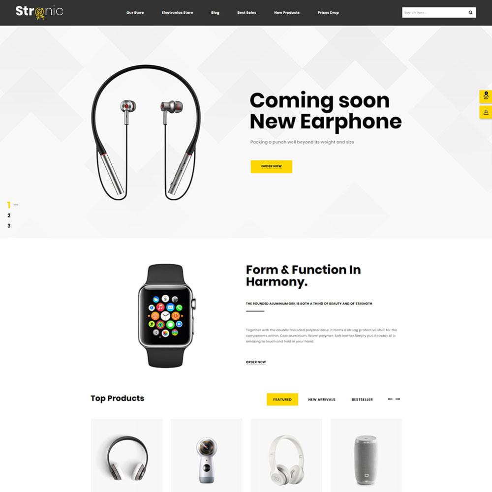 theme - Elettronica & High Tech - Stronic Electronics Store - 2