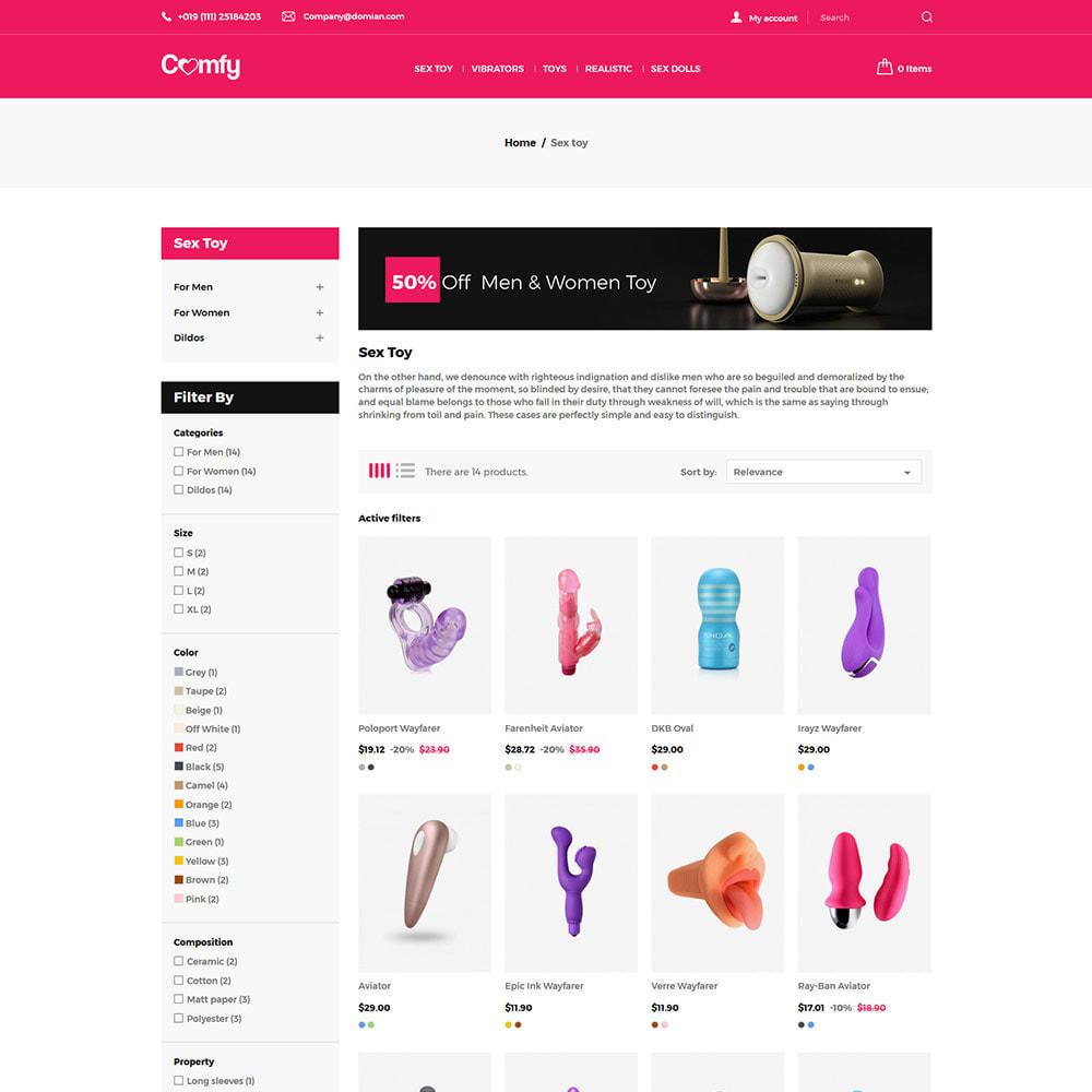 theme - Lingerie & Erwachsene - Komfort Adult - Sexspielzeug Pleasure Store - 4