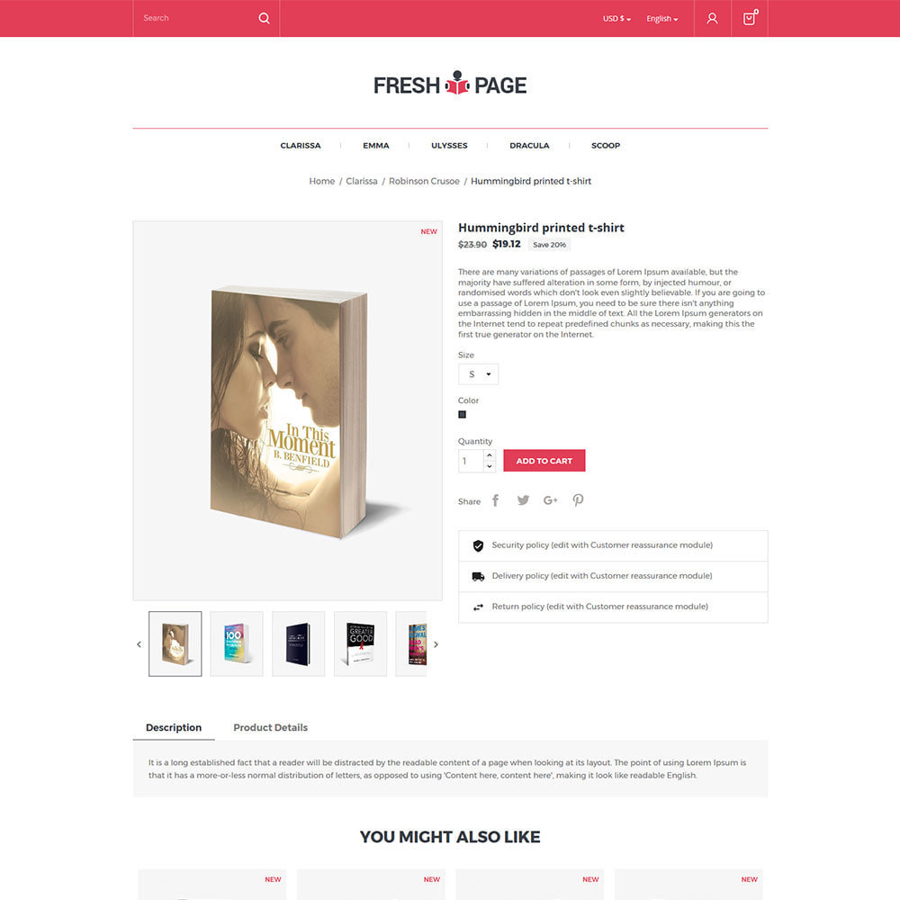 theme - Art & Culture - Fresh Page Book - Bibliothèque Ebook Store - 6