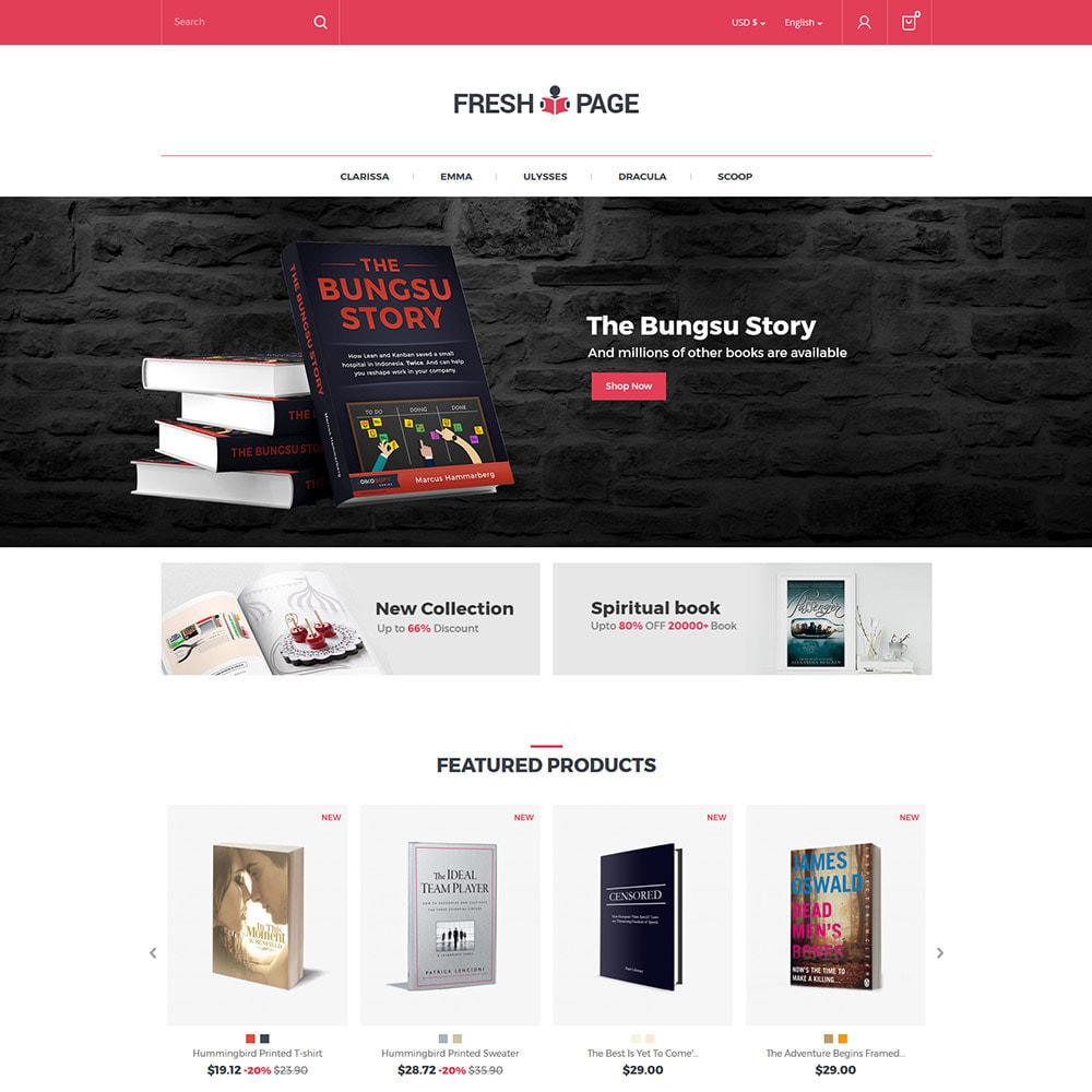 theme - Arte y Cultura - Fresh Page Book - Tienda de libros electrónicos - 4