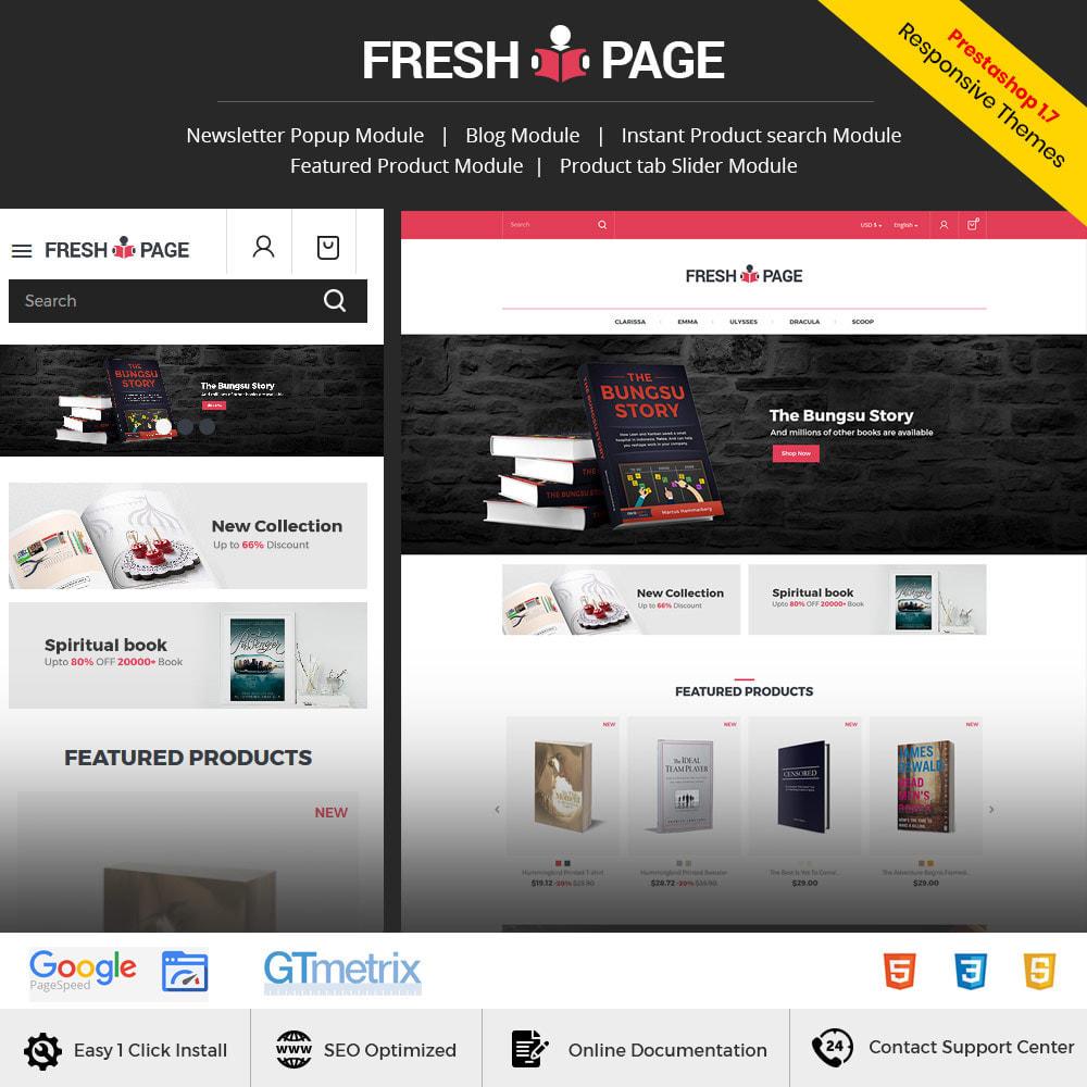 theme - Arte & Cultura - Fresh Page Book - Ebook Library Store - 2