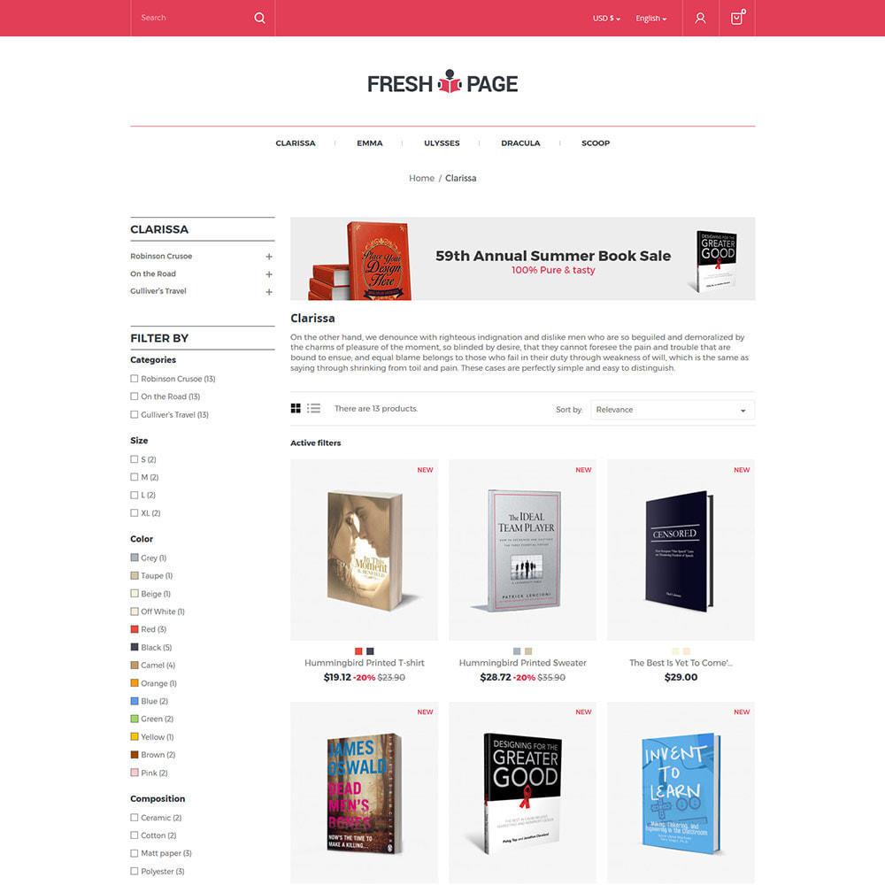 theme - Arte e Cultura - Fresh Page Book - Loja de bibliotecas de Ebook - 4
