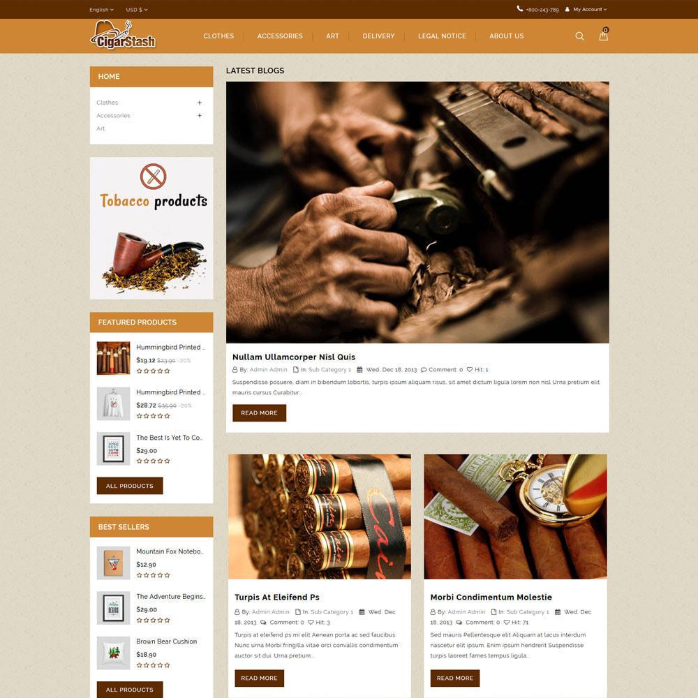 theme - Bebidas y Tabaco - Cigar Stash Store - 7