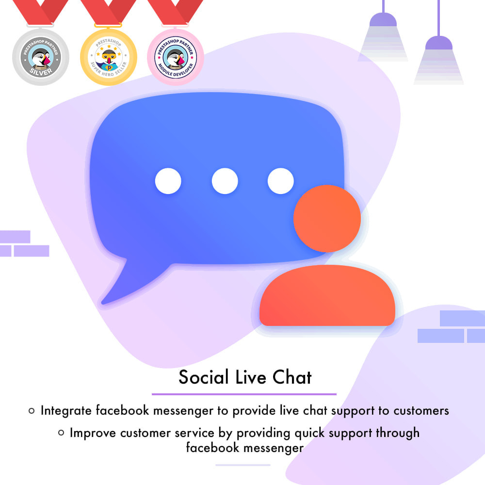 module - Productos en Facebook & redes sociales - Messenger | Social Live Chat - 1