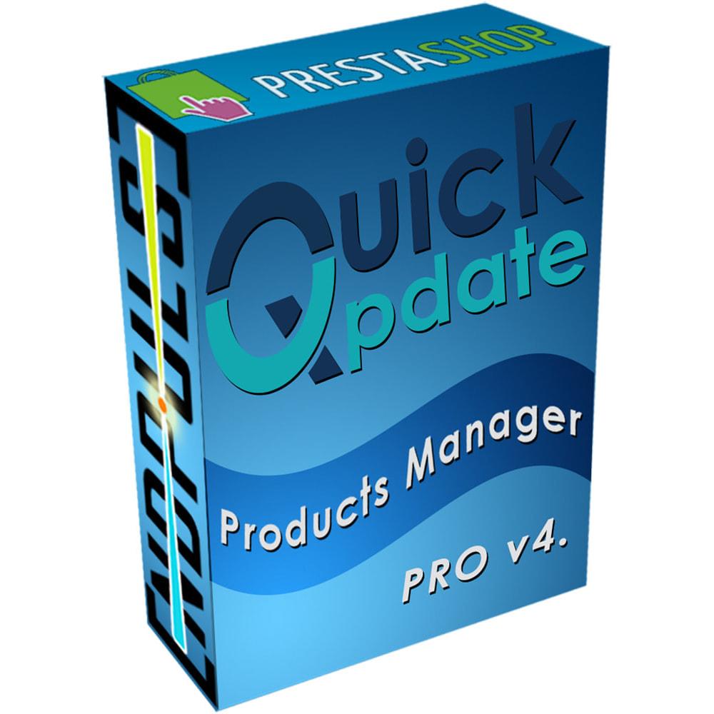 module - Quick Eingabe & Massendatenverwaltung - QuickUpdate Products Manager PRO - 1