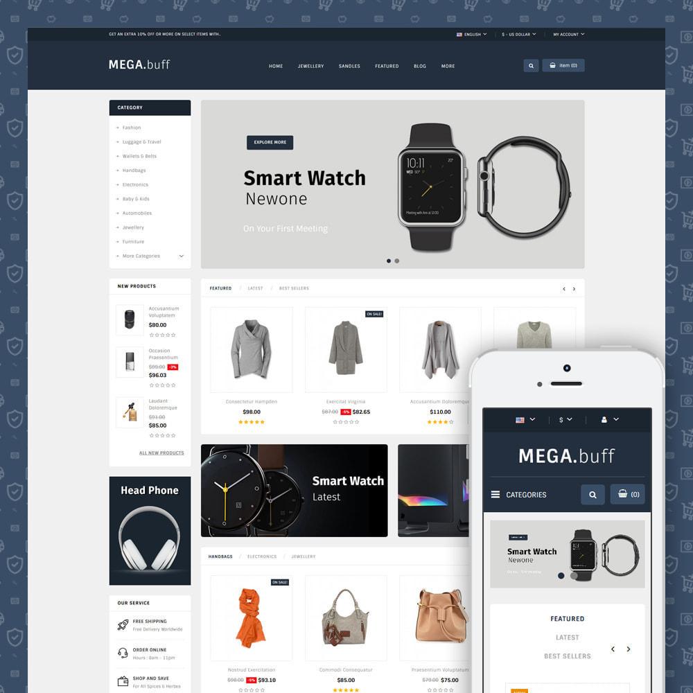 theme - Electronique & High Tech - Mega Buff - Multipurpose store - 1