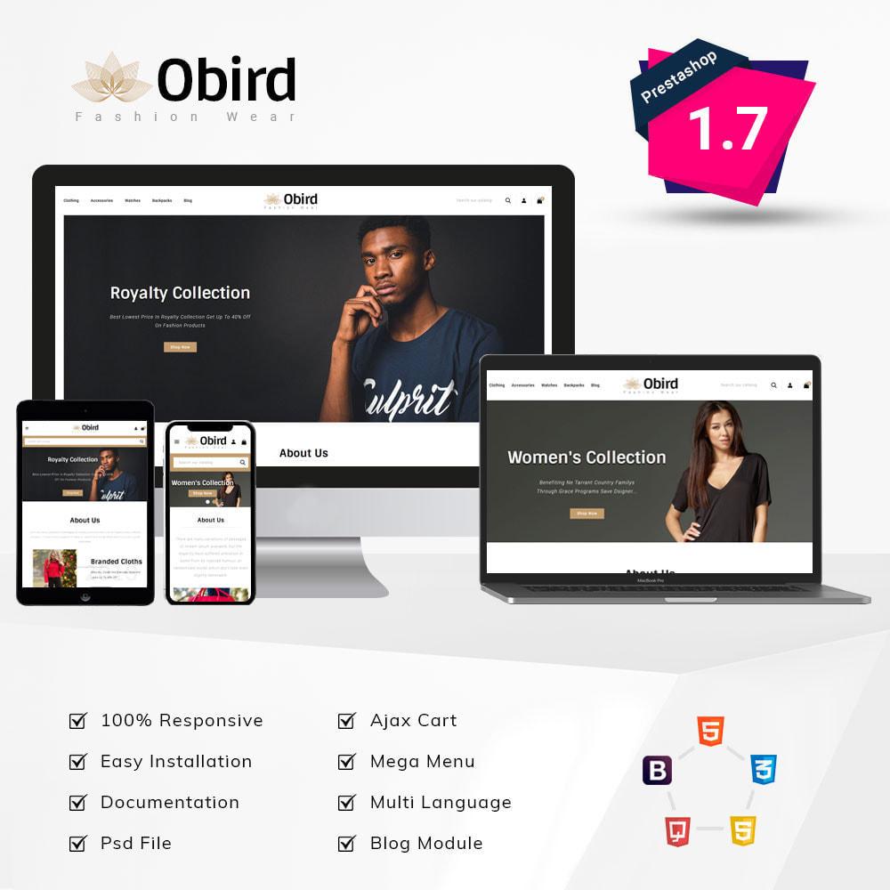 theme - Fashion & Shoes - oBird - Fashion Store - 1