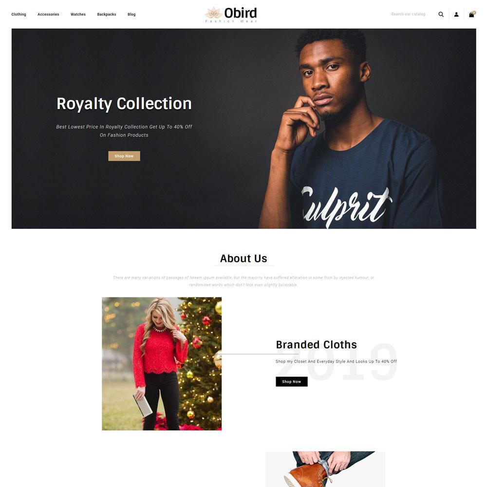 theme - Fashion & Shoes - oBird - Fashion Store - 2