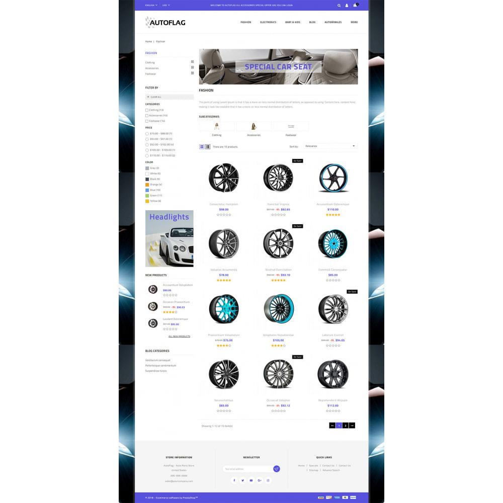 theme - Automotive & Cars - AutoFlag - AutoParts Store - 3